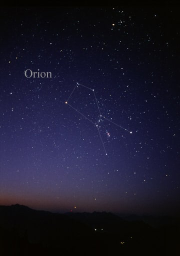 orion constell